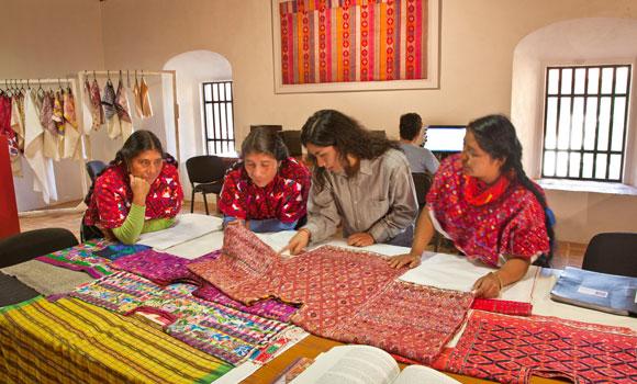 Laboratorio de conservación de textiles