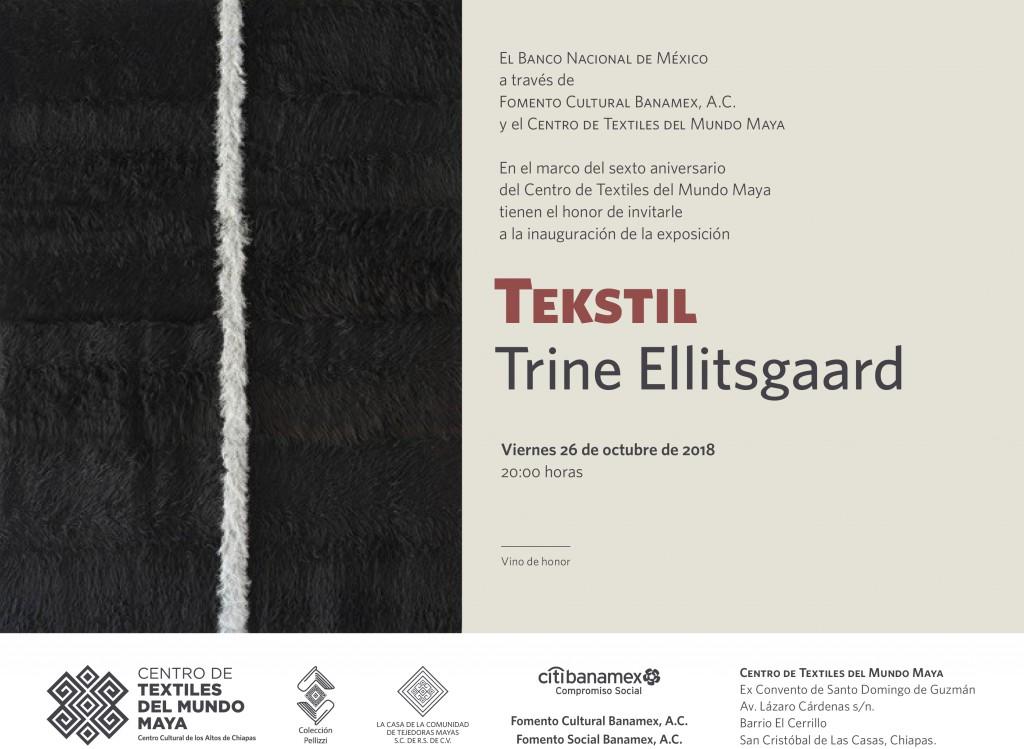 CARTEL ALTA RESOLUCIÓN TEKSTIL -TRINE